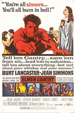 Cover: Elmer Gantry - Gott ist im Geschäft