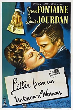 Brief einer Unbekannten