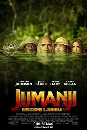 Cover: Jumanji - Willkommen im Dschungel