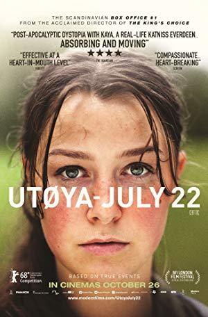 Cover: Utoya 22. Juli
