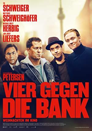 Cover: Vier gegen die Bank