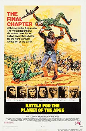 Cover: Die Schlacht um den Planet der Affen